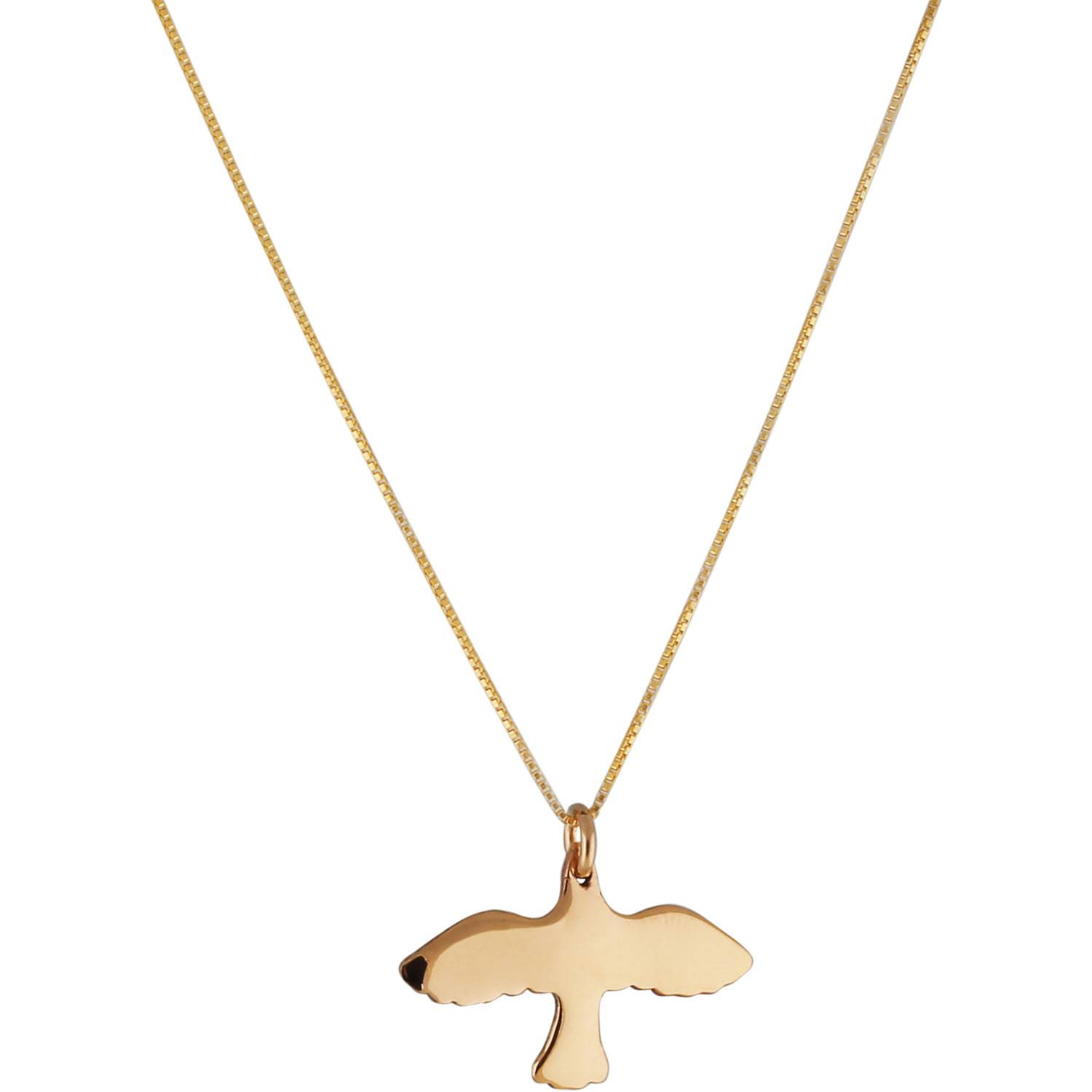 Emma Israelsson Dove Small Necklace, Gold