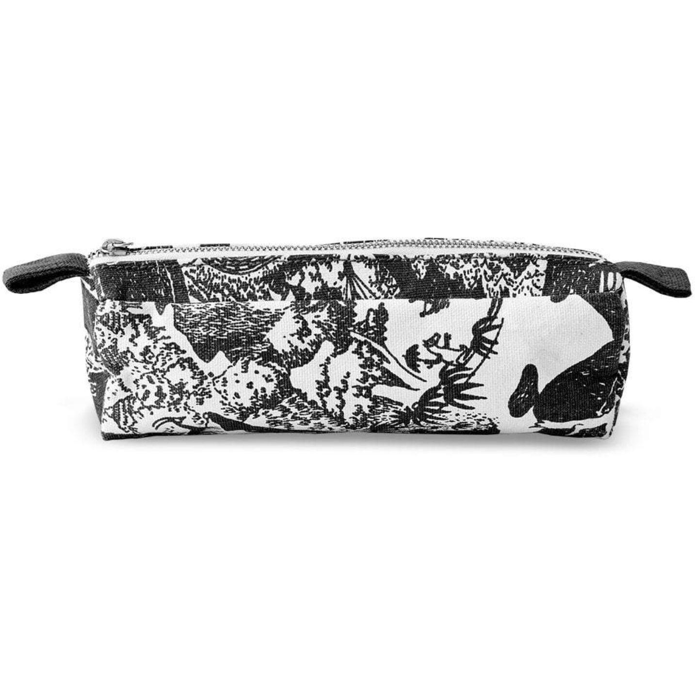 Finlayson Adventure Moomin Makeup Bag S, White/Black