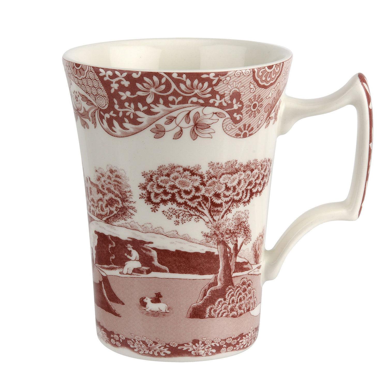 Spode Cranberry Italian Mug, 28 cl