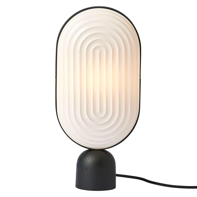 Le Klint Arc Pöytävalaisin LED E14, Valkoinen/ Musta Tammi