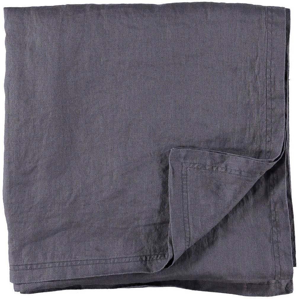 Gripsholm Washed Linen Tablecloth 145x250 cm, Ombre Blue