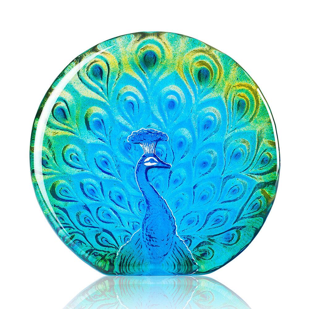 Målerås Glasbruk Peacock, Vihreä