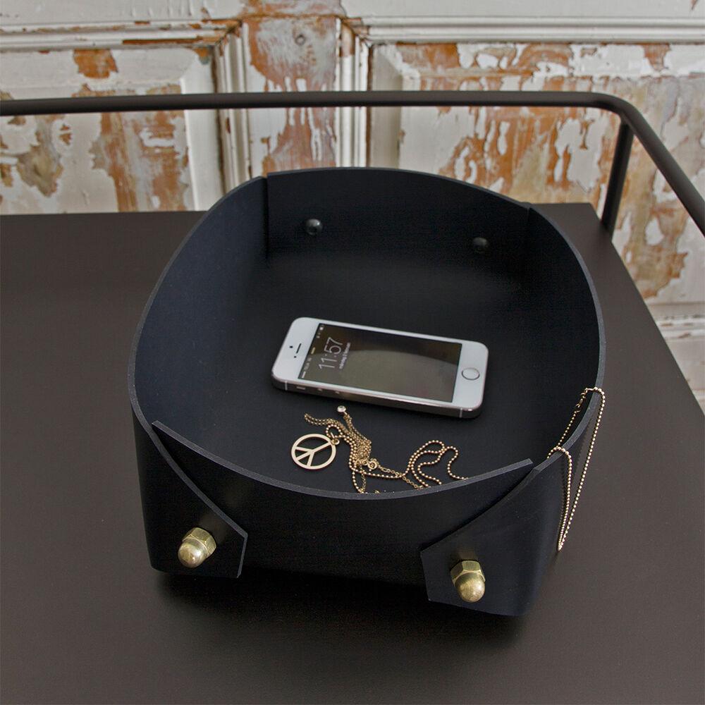 Caroline Ek Coco Big Box Black, Brass