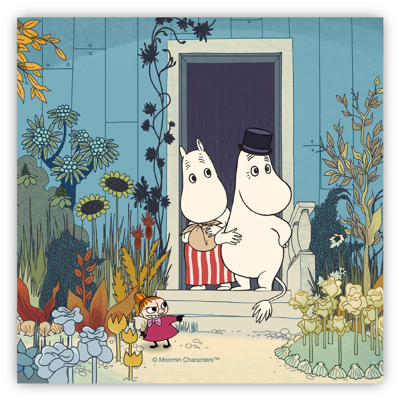 Opto Design Moomin Doorstep Servetti