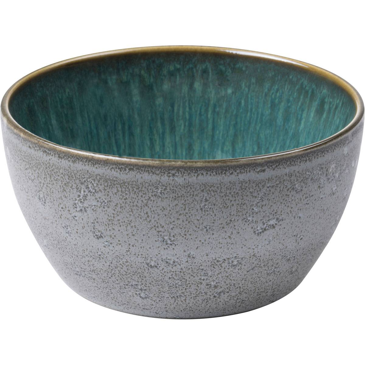 Bitz Bitz Bowl 14 cm, Grey/Green