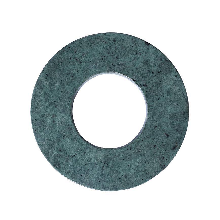 Linum Marble Pannunalunen Ø22cm, Pine Green