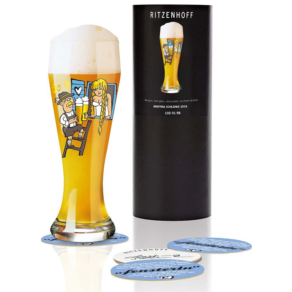 Ritzenhoff Wheat Beer Olutlasi 50cl, Schlenke