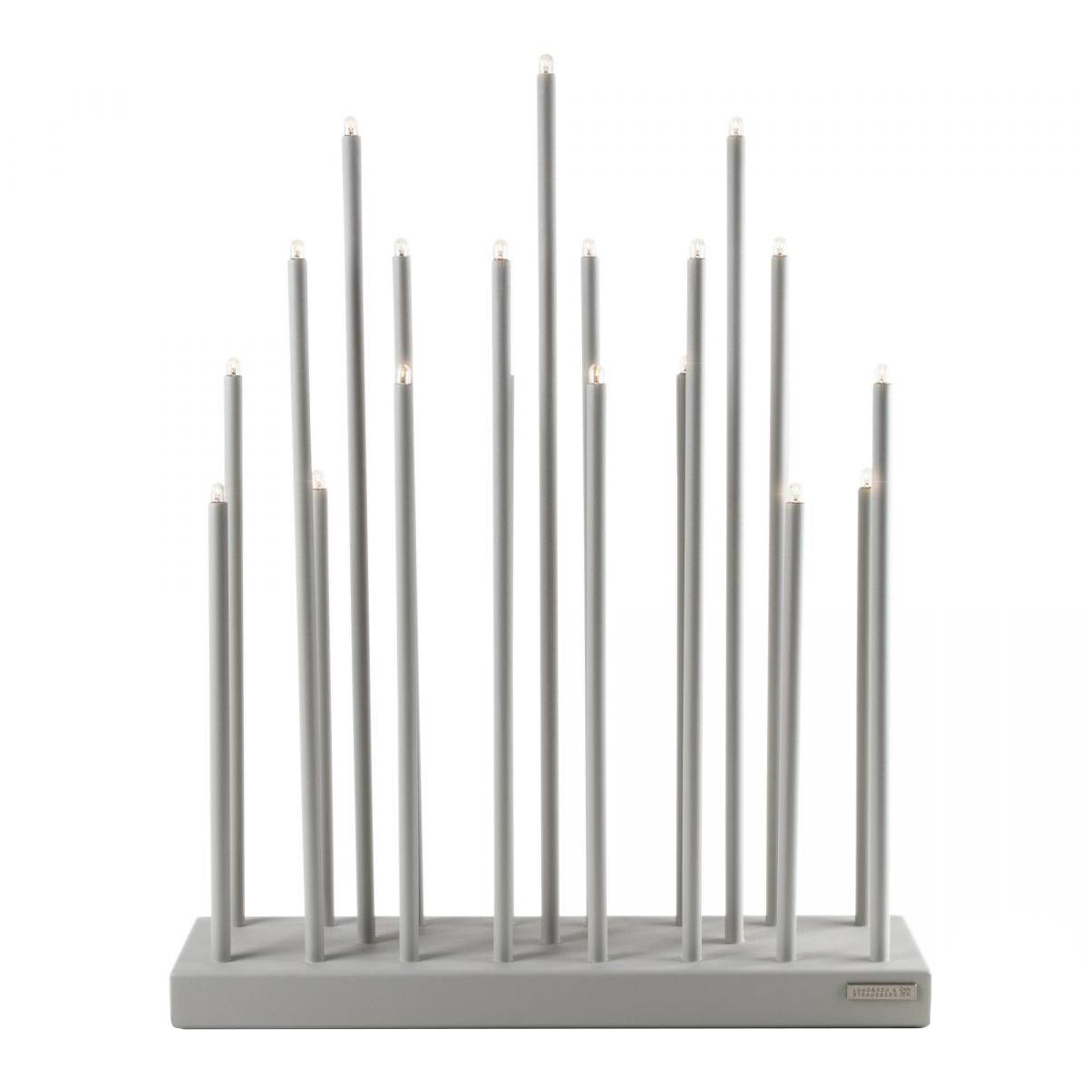 Smak Design Elflugan Grande Candlestick, Light Grey
