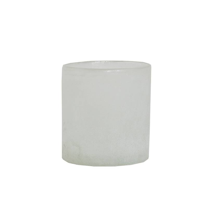 Tell Me More Frost Candleholder M, White