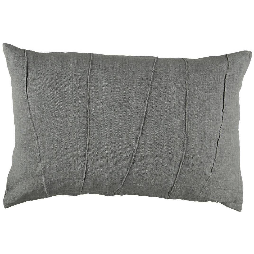 Gripsholm Josef Cushion Cover 40x60 cm, Dark Grey