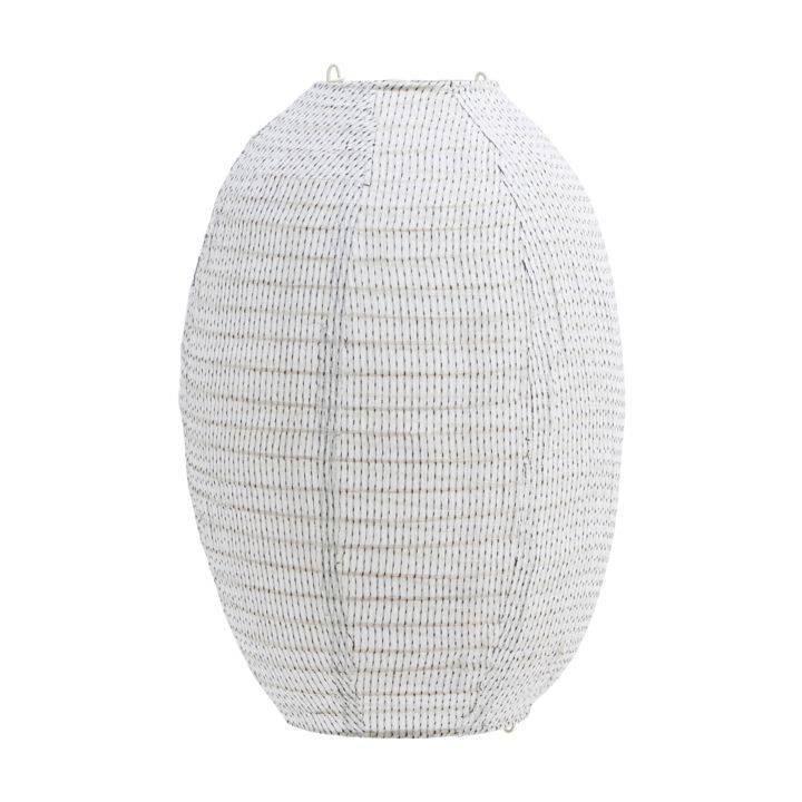House Doctor Stitch Lampshade 30x40 cm, Off-White