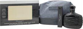 John Varvatos Dark Rebel Gift Set 125ml EDT + 17ml EDT + 1.5ml EDT + Toiletry Bag
