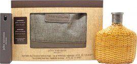 John Varvatos Artisan Gift Set 125ml EDT + 17ml EDT + 1.5ml EDT + Toiletry Bag