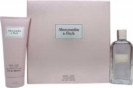 Abercrombie & Fitch First Instinct for Her Gift Set 100ml EDP + 200ml Body Lotion