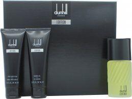 Dunhill Edition Lahjasetti 100ml EDT + 90ml Suihkugeeli + 90ml Partabalsami