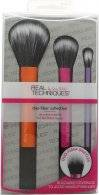 Real Techniques Duo-Fiber Collection Gift Set 3 x Brushes