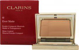 Clarins Ever Matte Mineral Powder Compact 10g - 02 Transparent Medium