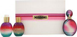 Missoni (2015) Gift Set 100ml EDP + 100ml Body Lotion + 100ml Shower Gel