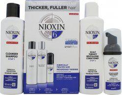 Wella Nixon System 6 Gift Set 150ml Shampoo Cleanser + 150ml Scalp Revitaliser + 40ml Scalp Treatment
