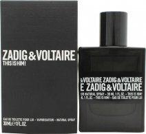 Zadig & Voltaire This is Him Eau de Toilette 30ml Spray
