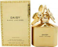 Image of Marc Jacobs Marc Jacob Daisy Shine Eau de Toilette 100ml Spray - Gold Edition