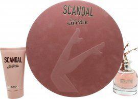 Jean Paul Gaultier Scandal Gift Set 50ml EDP + 75ml Body Lotion