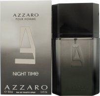Azzaro Night Time Pour Homme Eau de Toilette 100ml Suihke
