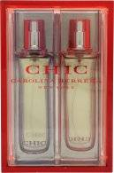 Image of Carolina Herrera Chic Gift Set 30ml EDP Red edition + 30ml EDP Purple Edition