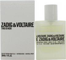 Zadig & Voltaire This is Her Eau de Parfum 30ml Spray
