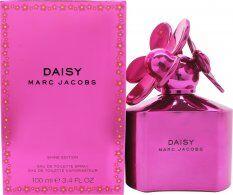 Marc Jacobs Daisy Shine Eau de Toilette 100ml Spray - Pink Edition
