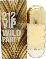 Carolina Herrera 212 VIP Wild Party 2016 Limited Edition Eau de Toilette 80ml Spray