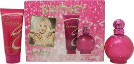 Britney Spears Fantasy Lahjasetti 100ml EDP + 100ml Vartalovoide