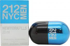 Image of Carolina Herrera 212 NYC Men Pills Eau de Toilette 20ml Spray