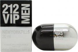 Image of Carolina Herrera 212 VIP Men Pills Eau de Toilette 20ml Spray