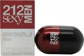Image of Carolina Herrera 212 Sexy Men Pills Eau de Toilette 20ml Spray