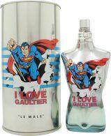 Jean Paul Gaultier Le Male Eau Fraiche Eau de Toilette 125ml Spray - Superman Edition