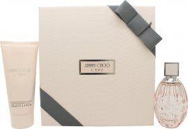Image of Jimmy Choo L'Eau Gift Set 60ml EDT + 100ml Body Lotion