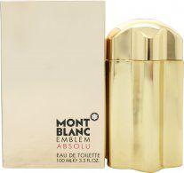 Mont Blanc Emblem Absolu Eau de Toilette 100ml Spray