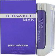 Paco Rabanne Ultraviolet Man Eau De Toilette 50ml Suihke