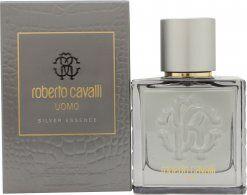 Roberto Cavalli Uomo Silver Essence Eau de Toilette 60ml Spray