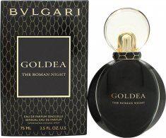 Bvlgari Goldea The Roman Night Eau De Parfum 75ml Spray
