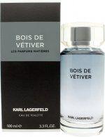 Karl Lagerfeld Bois De Vetiver Eau De Toilette 100ml Spray