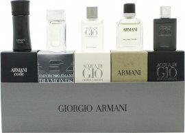 Image of Giorgio Armani Miniatures Gift Set 5 Pieces