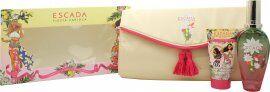 Escada Fiesta Carioca Gift Set 50ml EDT + 50ml Body Lotion + Bag