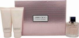 Jimmy Choo Illicit Flower Gift Set 100ml EDT + 100ml Body Lotion + 100ml Shower Gel