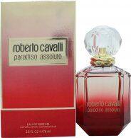 Roberto Cavalli Paradiso Assoluto Eau de Parfum 75ml Spray