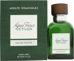 Adolfo Dominguez Adolfo Domínguez Agua Fresca Vetiver Eau de Toilette 120ml Spray