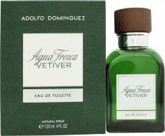 Adolfo Dominguez Adolfo Domínguez Agua Fresca Vetiver Eau de Toilette 120ml Spray