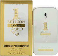 Paco Rabanne 1 Million Lucky Eau de Toilette 50ml Spray