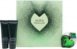 Thierry Mugler Aura Gift Set 30ml EDP + 50ml Body Lotion + 50ml Shower Gel